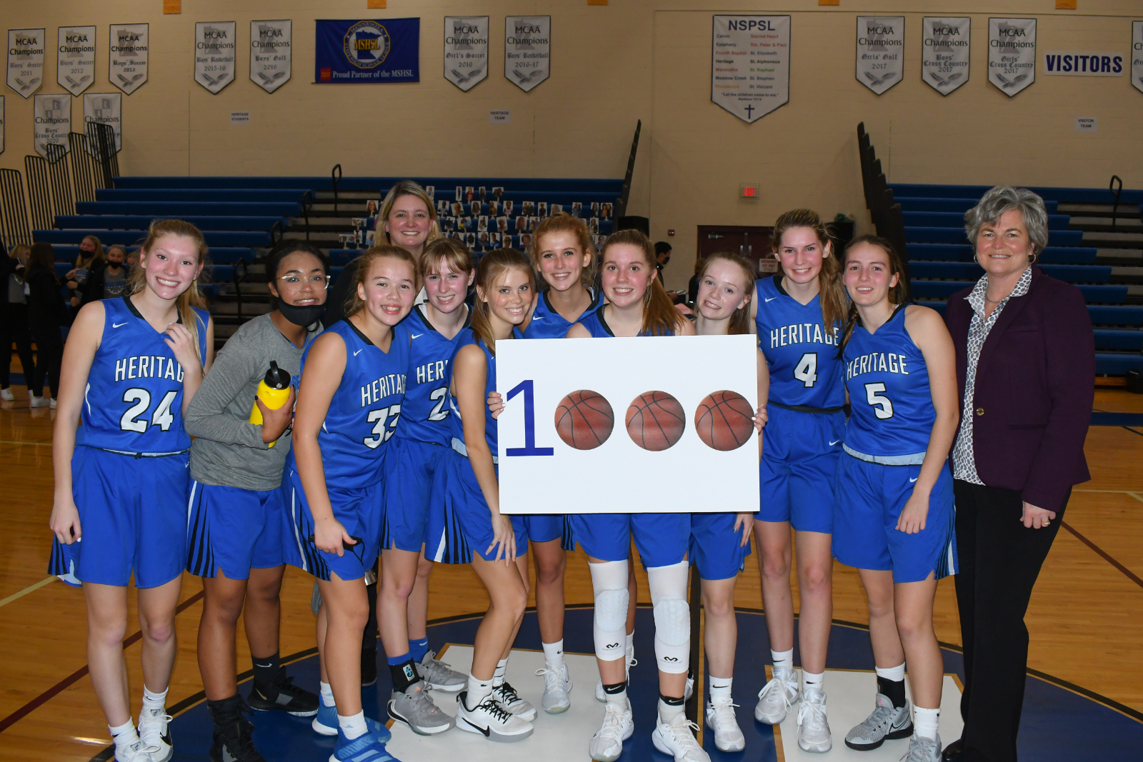 2020-2021 HCA Girls Basketball