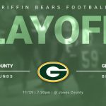 Quarter finals Football Friday 11/29 @ Jones County HS