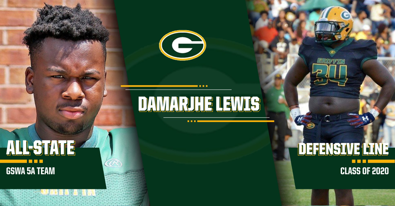 GSWA Honors Damarjhe Lewis