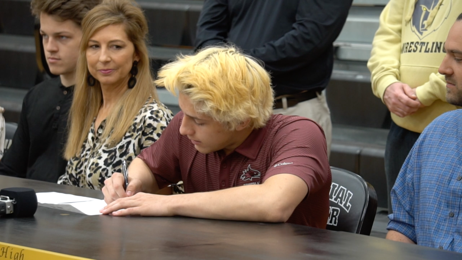 Video: Dylan Quinn signs with Cumberland University