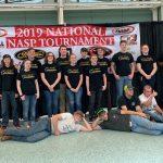 MJHS Archery Team at Nationals