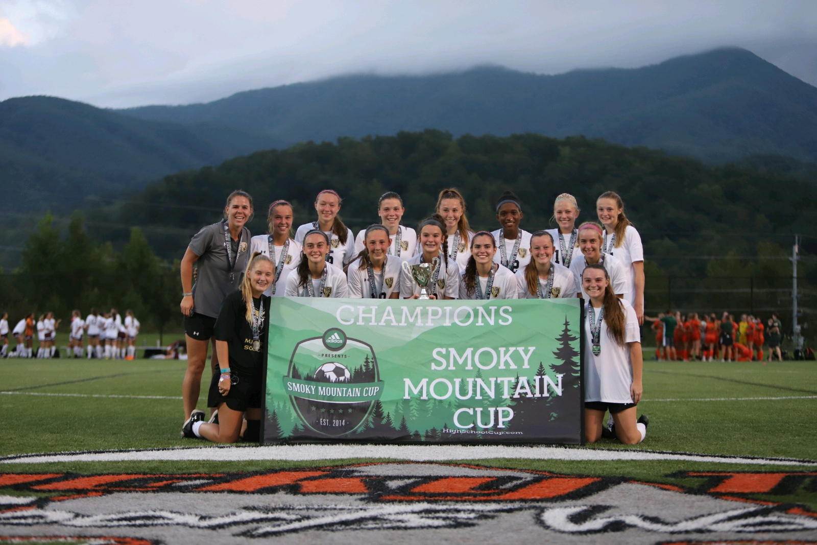 Varsity Girls Soccer wins Smoky Mountain Cup