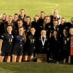 Lady Bears Soccer wins district championship