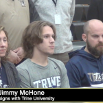 VIDEO: Jimmy McHone signs with Trine University