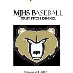 FIRST PITCH BASEBALL DINNER 2/24/20!!!