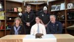 Jack Fortner signs with Calhoun College