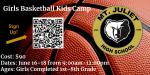 Girls Basketball Kids Camp June 16th-18th
