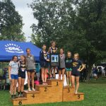 Beaumont School Girls Varsity Cross Country finishes 2nd place