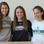 Three Volleyball Players Make College Commitments