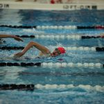 Blue Streaks Defeat Laurel at HB Tri-Meet