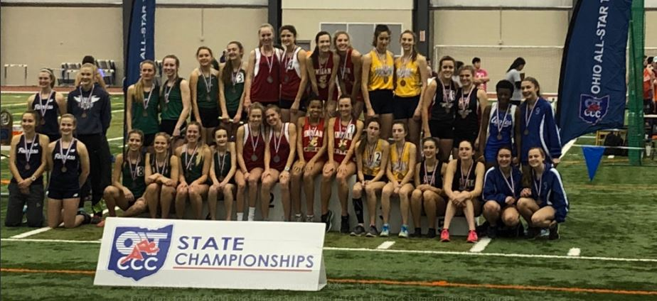 Blue Streaks Shine at Indoor State Championships