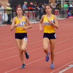 Blue Streaks Finish Third at Perry District Meet