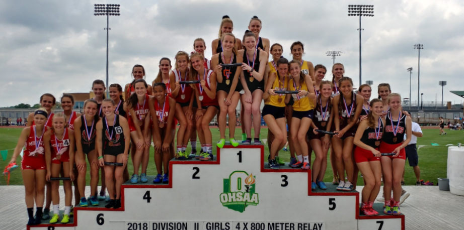 Blue Streaks Shine on Day One of the State Track & Field Meet