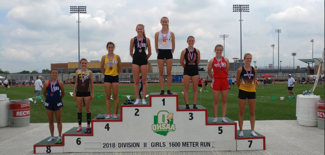 Blue Streaks Turn in Three Top-Five Finishes at State Meet