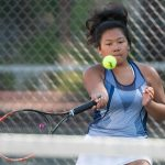 Tennis Program Sweeps Gilmour