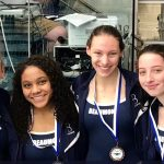 Blue Streaks Take Sixth at NCL Swimming and Diving Championships
