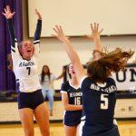 Volleyball Team Sweeps Mentor in Season Opener