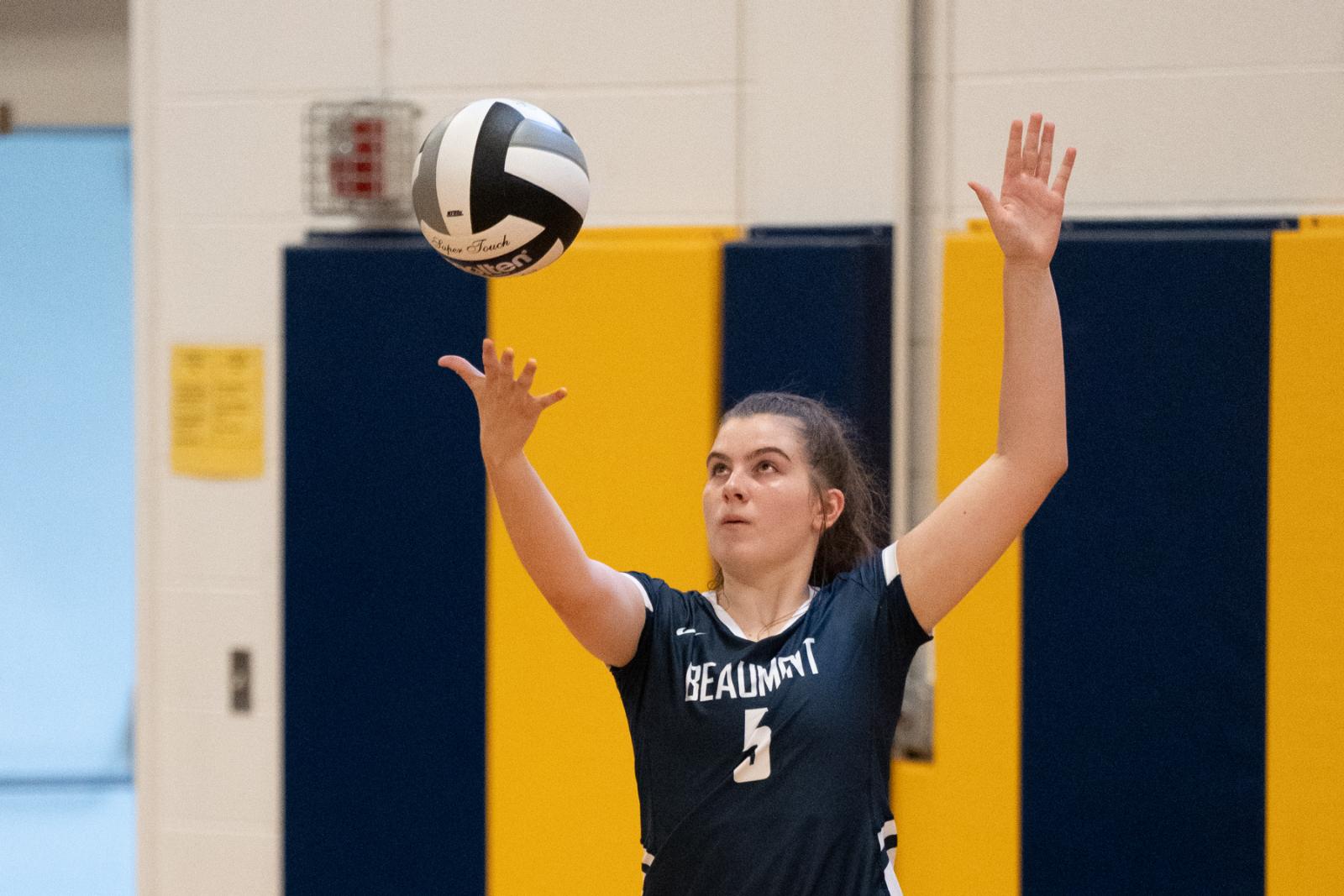 Volleyball Program Earns Team Academic Award