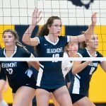 Volleyball Team Wins NCL Opener at VASJ