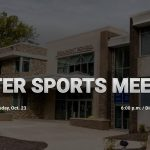 Winter Sports Meeting Will Be Held on Wednesday, Oct. 23rd
