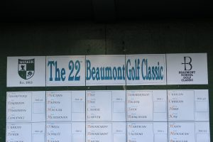 2019 Beaumont Golf Classic