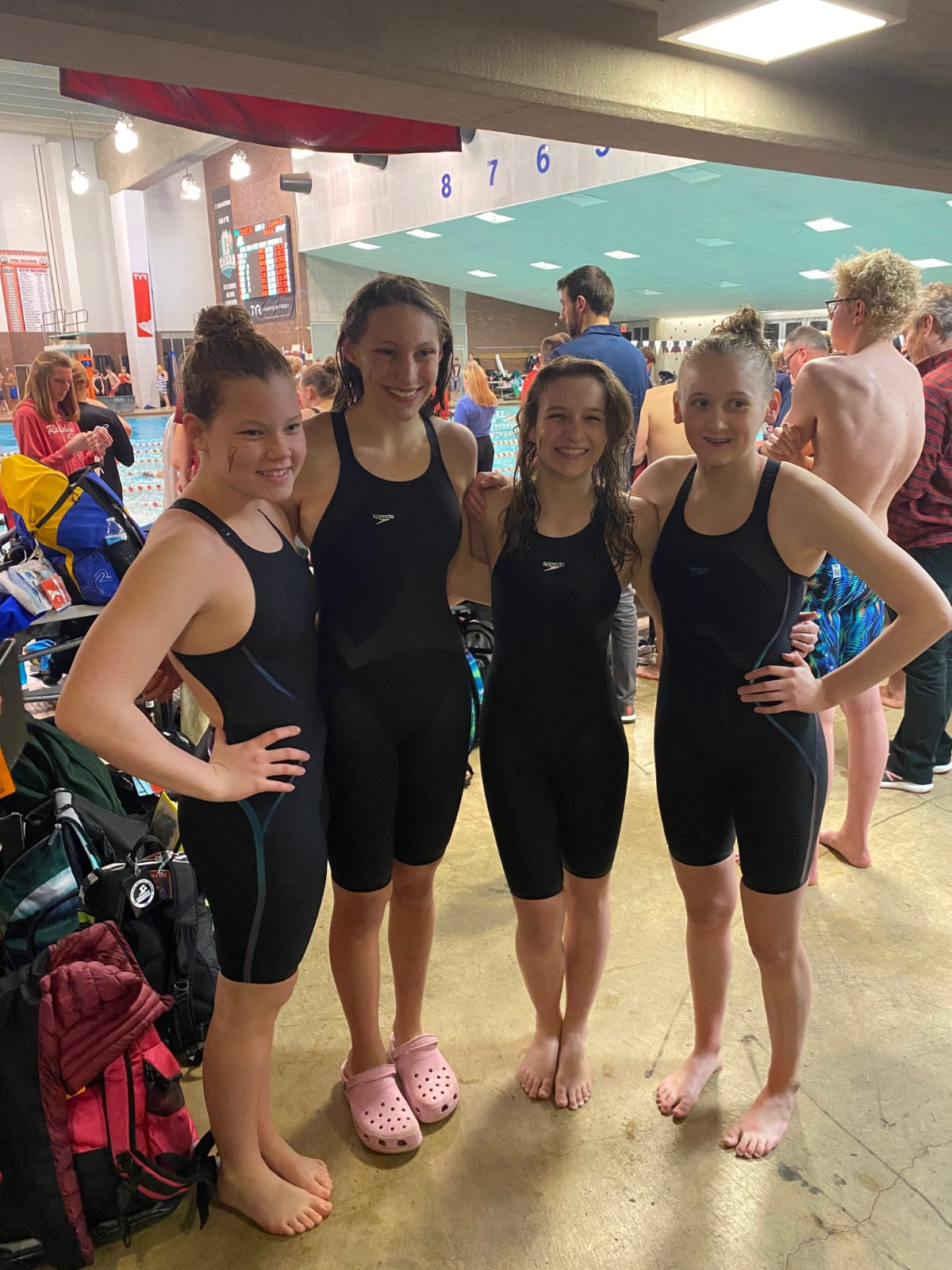 200 Free Relay Team Finishes 20th at State Meet