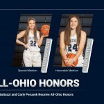 Lydia Gattozzi and Carly Perusek Receive All-Ohio Honors