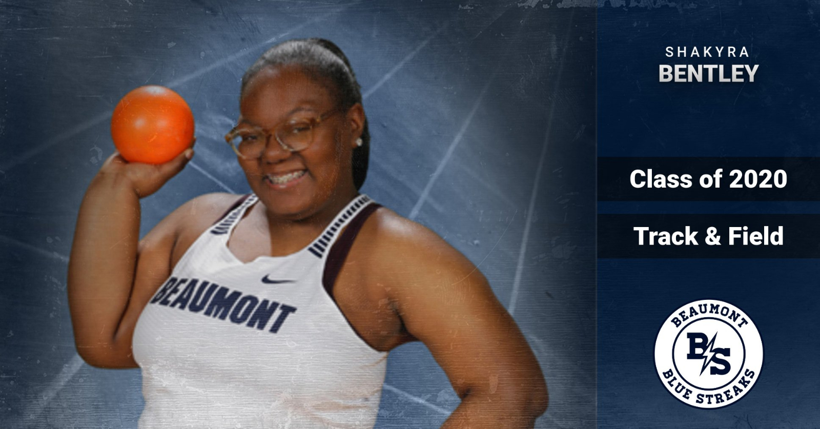 Spring Senior Student-Athlete Spotlight: Shakyra Bentley