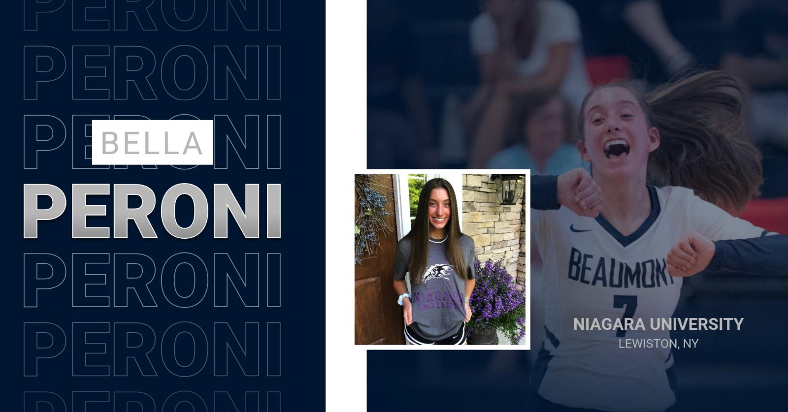 Bella Peroni Commits to Niagara University