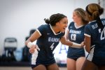Volleyball Team Beats Laurel in Four Sets