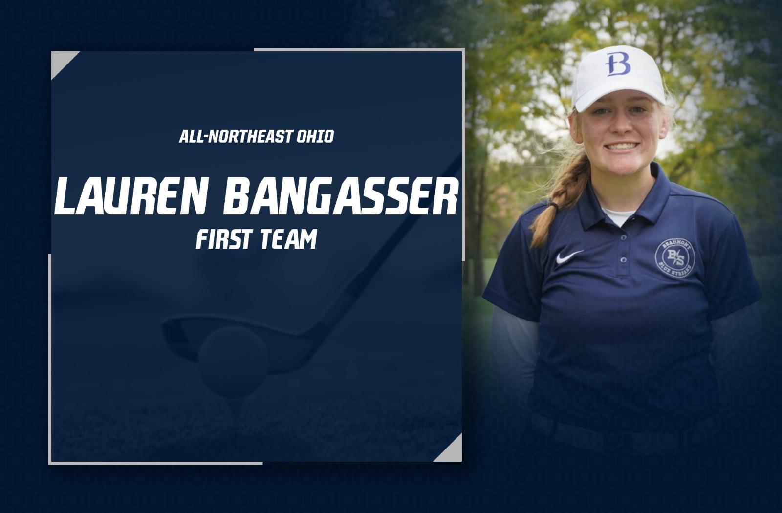Lauren Bangasser Named First Team All-Northeast Ohio