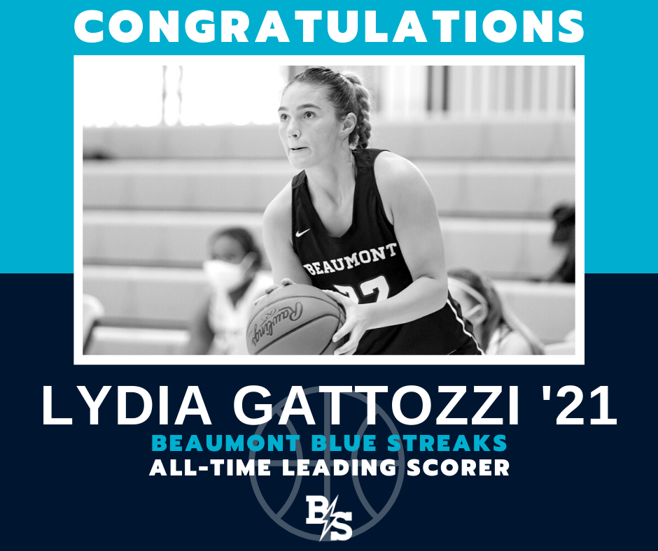 Lydia Gattozzi Becomes Program's All-Time Leading Scorer