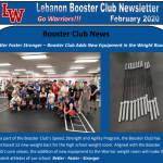 Booster Club February 2020 Newsletter