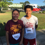 Cross Country Runners Win in 5k Run