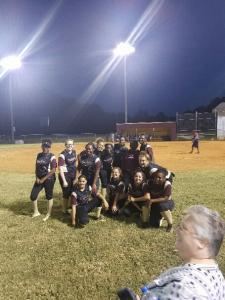 Lady Panthers Softball—State Playoffs 2017