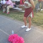 JV cheerleaders are Pretty in Pink