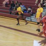 Volleyball Region Championship Action
