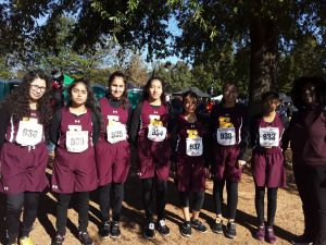 We are PROUD of our Cross Country Girls – State 11/1/2019
