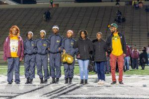 2019 Senior Night Cheer – Football – Band