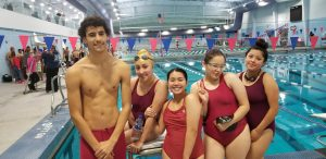 Panther Swim in Action 11/13/2019