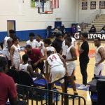 Panther basketball - Holiday action