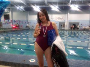 Panther Swim! Senior Night – Alondra Ibarra