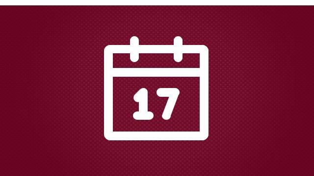 Next Weeks Calendar