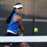 Girls Tennis Beats San Diego