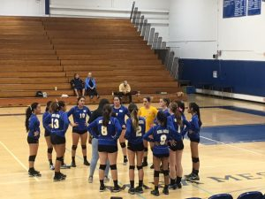 Volleyball Playoffs vs Castle Park