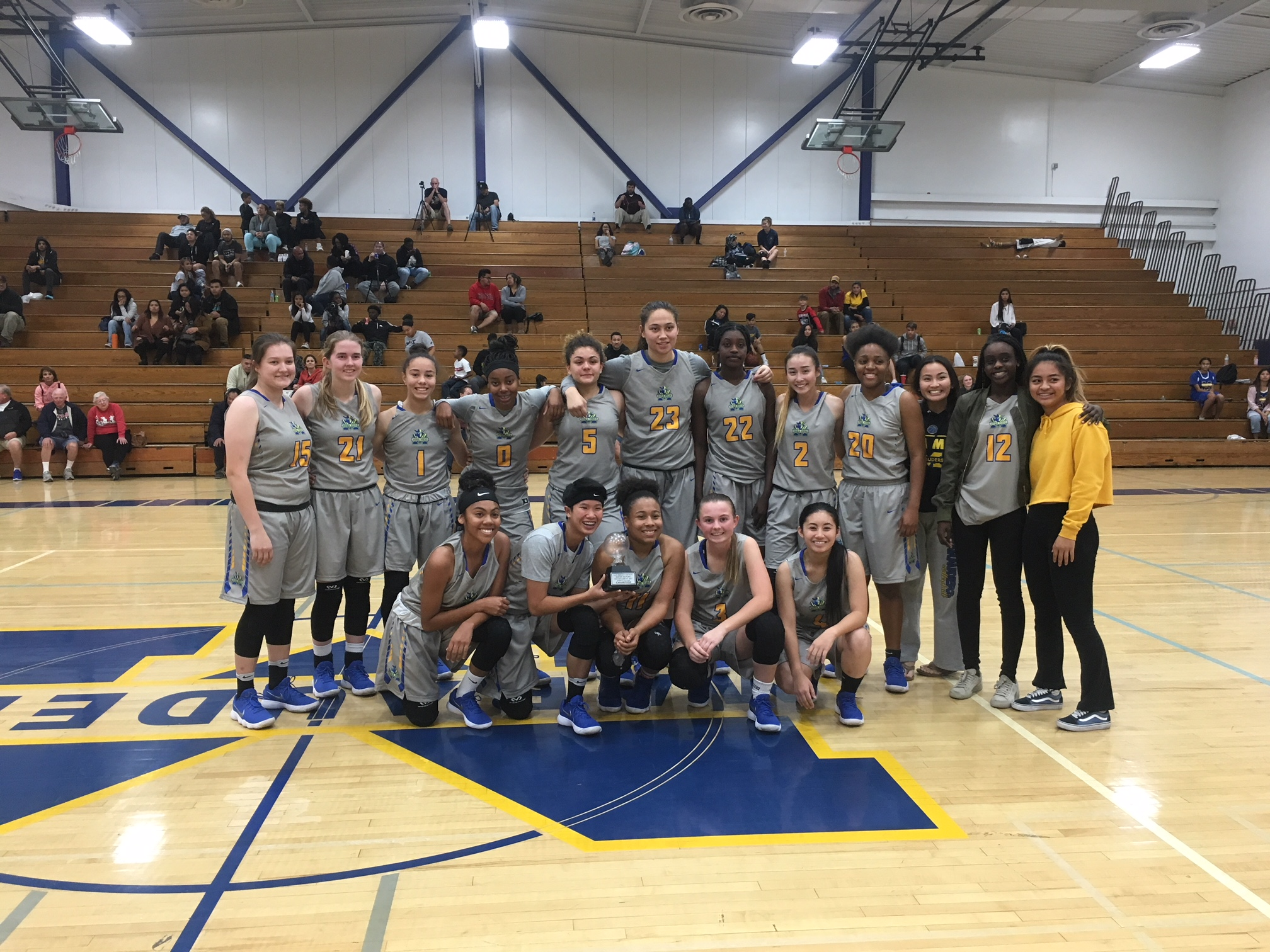 Girls Basketball Wins SD Hoops Tournament