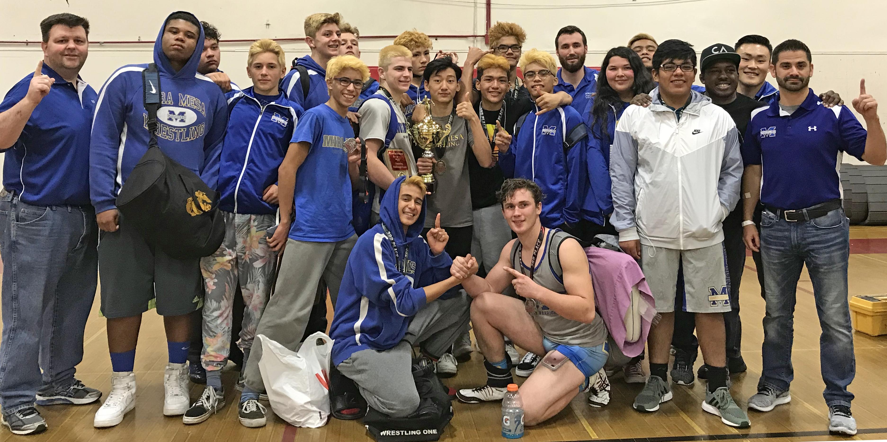 Wrestling Continues to Impress- Monte Vista Tournament Champions