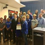 Wrestling Honored By The School Board