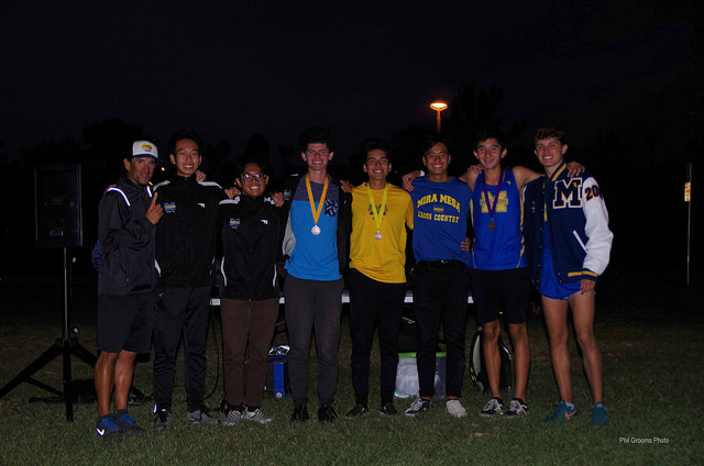 Congratulations to Boy's Cross Country Co-Champs Eastern League