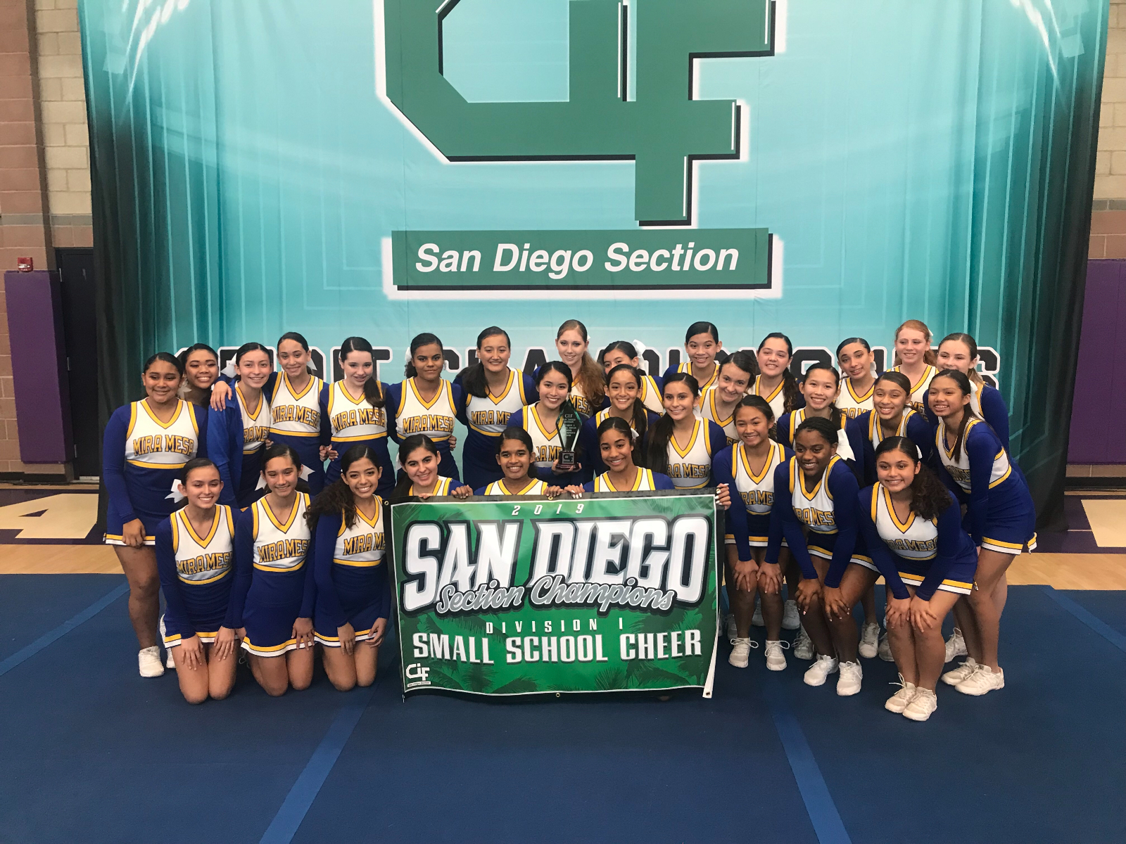 Cheer Team are CIF Champions